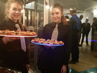 Ashridge Delicious Serving Staff
